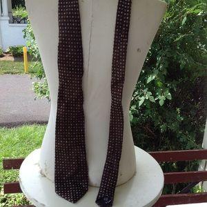 New Newman Marcus Valentino silk tie.